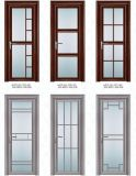 Konkurrenzfähiger Preis Btahroom/Toiletten-/Küche-Aluminiumflügelfenster-GlasHaustür (ACD-011)