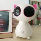 고양이 판지 소형 Bluetooth 스피커 USB 무선 휴대용 Bluetooth 스피커