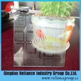 Vidro decorativo transparente 4mm / 5mm / 6mm / Vidro projetado / tela de seda vidro / vidro impresso / vidro ácido