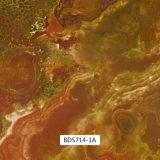 pellicole di stampa di trasferimento dell'acqua del reticolo del marmo di larghezza di 1m per le parti dell'automobile e l'uso quotidiano Bds738-1A