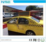 P5mm IP65 de Bovenkant die van de Taxi LEIDENE Vertoning adverteert