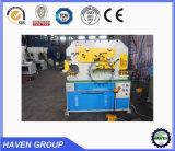 De hydraulische Machine van het Ponsen en het Scheren van de Arbeider van het Ijzer hydraulische Gecombineerde