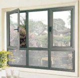 Guichet en aluminium personnalisé bon marché de tissu pour rideaux avec le prix départ usine (ACW-055)