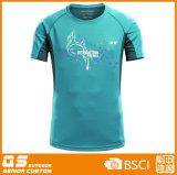 남자의 형식 단단한 스포츠 t-셔츠
