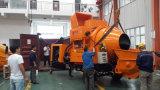 Смеситель хоппера 15m3 эффективности гидровлический поднимаясь с изготовлением насосной системы