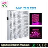 14 Вт 225 красный светодиод синий рост растений гидропоники лампы панели управления