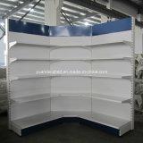 Prix d'usine de qualité supérieure Supermarket Inner Corner Wall Shelf Shelving