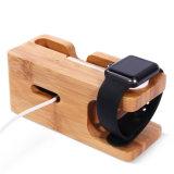 Nueva base de carga creativa del teléfono móvil Dos-en-Uno sostenedor del soporte del reloj