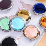 Promotion Gift Crystal Mirror Miroir cosmétique pliable