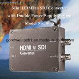 DC 5-24V Entrada de alimentação HDMI para Sdi Mini Converter