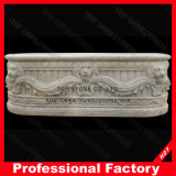 Marble di pietra Shower Tub Standard Bathtub Size per SPA Baths