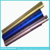 ألومنيوم مص ألومنيوم قطاع جانبيّ أنابيب مع فرق لون