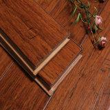 Plancher en bambou HDF d'épice de HS tissé par brin