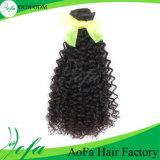7A van de rang het Onverwerkte Mongoolse Krullende 100% Menselijke Haar van Haar