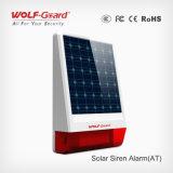 Sirène extérieure d'alarme de tache de panneau solaire avec la lumière de Stobe