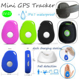 Personnes âgées Tracker GPS portable avec fonction d'alerte de bas de l'automne (EV07)