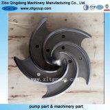 CNCの機械化を用いるOEMの精密鋳造の水ポンプのインペラー