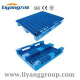 Lycw-1010 Ventilado Convés 1m*1m paletes de plástico com carro 1000kg