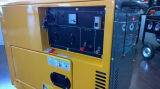 Generador diesel silencioso 5.5kw eléctrico/comienzo del retroceso