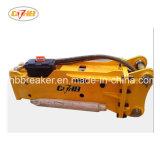 Sb45 ciseau diamètre 85mm brise roche hydraulique pour pelle 7-14tonne