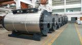 Tipo del shell, horizontal, caldera de vapor del tubo de fuego de tres pasos