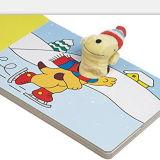 Bebé personalizada interesante libro de juguete de títeres de dedo