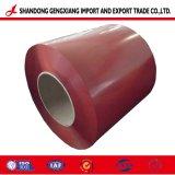 Manufacture Galvalume PPGL bobine d'acier à l'exportation de couleur