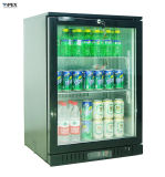 Single Glass Door Back Bar Display Cooler