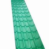 Feuille de carton ondulé prépeint/Tuiles PPGI/Feuille de toit ondulé