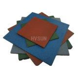 Gimnasio mayorista con coloridas alfombras de motas de caucho EPDM, un precio bajo la alfombrilla de suelos de caucho