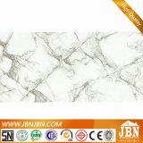 Carrara-hohe glasig-glänzende Porzellan-Fußboden-Marmorierungpolierfliese (JM12534D)
