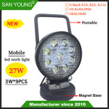 Nouveau modèle 4inch 27W phare de travail à LED