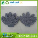 31*24cm einzelner/doppelter Finger-Chenille Microfiber Auto-Wäsche-Handschuh der Seiten-fünf