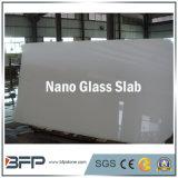 Brames en verre nanoes cristallisées blanches pures en pierre artificielles