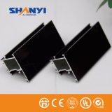 El bronce Electropholesis revestimiento electroforético perfil de aluminio para la industria de las puertas de Windows
