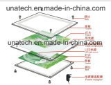 Rectángulo ligero de acrílico delgado del cristal LED White/RGB de la venta de la fábrica