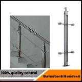 Main courante en acier inoxydable Post pour l'escalier ou un balcon