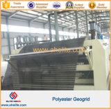 Polyester enduit Geogrid d'animal familier de PVC Ux pour le renfort de route