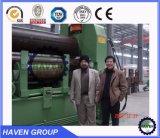 W11S-25X4000 de la plaque universelle du galet supérieur hydraulique de la flexion de rouler la machine