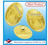 Förderndes dekoratives Metallabzeichen mit Qualität