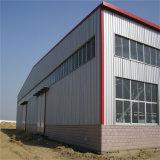 Corrugated стальное структурно здание пакгауза рамки панели сандвича
