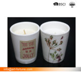 Душистыми ароматами керамические изображение большего размера при свечах с табличкой бумаги для дома в стиле Арт Деко