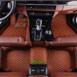 Stuoia antisdrucciolevole del pavimento automobile/della stuoia/stuoia del piede per Ford con bordi completi 5D