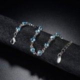 Браслет белых ювелирных изделий способа браслета Gp голубых Austrial кристаллический магнитный