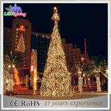 최고 밝은 크리스마스 훈장 거대한 크리스마스 나무 빛을 점화하는 LED 정원