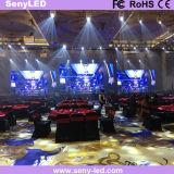 3,91mm etapa vídeo la pantalla LED para interiores, exteriores de la aplicación móvil