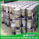 Isento de solventes ou betume modificado de borracha líquido curados de revestimento impermeável