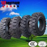 Pneu solide 10.00-20, pneu 10.00-20 de chariot élévateur de constructeur de pneu de la Chine de chariot élévateur