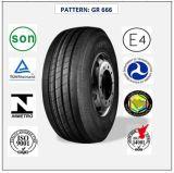 Tous les pneus radiaux en acier de camion et de bus avec le certificat 435/50r19.5 (GR666) de CEE