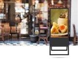 Le restaurant Smart 32 pouces de Flexible de pliage de la signalisation numérique HD réseau WiFi annonce vidéo Player Outdoor /Affichage LCD de l'intérieur de la publicité commerciale